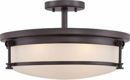 Quoizel SLR1716WT Sailor Modern Western Bronze Overhead Lighting Fixture