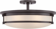 Quoizel SLR1720WT Sailor Modern Western Bronze Ceiling Light