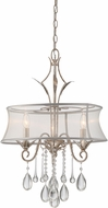 Quoizel SLT5303IF Silhouette Italian Fresco Mini Chandelier Lighting
