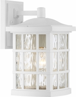 Quoizel SNN8408WFL Stonington Fresco Fluorescent Outdoor 8  Sconce Lighting