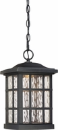Quoizel SNNL1909K Stonington LED Mystic Black LED Exterior Drop Ceiling Lighting