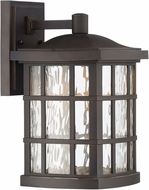 Quoizel SNNL8408PN Stonington LED Palladian Bronze LED Outdoor 8  Lighting Wall Sconce