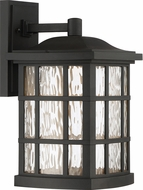 Quoizel SNNL8409K Stonington LED Mystic Black LED Exterior 9.5  Wall Lighting Sconce
