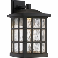 Quoizel SNNL8411K Stonington LED Matte Black LED Outdoor Wall Sconce