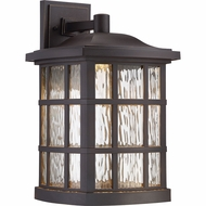 Quoizel SNNL8411PN Stonington LED Palladian Bronze LED Exterior Wall Lamp