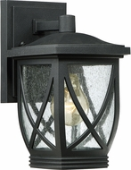 Quoizel TDR8406KFL Tudor Mystic Black Fluorescent Exterior Wall Sconce Lighting
