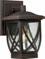Quoizel TDR8406PN Tudor Palladian Bronze Outdoor Wall Light Fixture