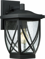 Quoizel TDR8408KFL Tudor Mystic Black Fluorescent Exterior Wall Sconce Lighting