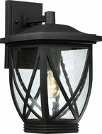 Quoizel TDR8409K Tudor Mystic Black Outdoor Wall Lighting Fixture