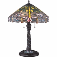 Quoizel TF1666T Jonas Tiffany 17  Wide Lighting Table Lamp