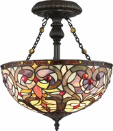 Quoizel TF1714VB Tiffany Tiffany Vintage Bronze Home Ceiling Lighting