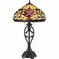 Quoizel TF1790TIB Tiffany Imperial Bronze Finish 27  Tall Lighting Table Lamp