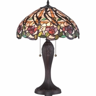 Quoizel TF1794T Tiffany Dark Bronze Finish 26  Tall Table Lamp