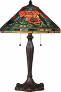 Quoizel TF1850TIB Tiffany Imperial Bronze Lighting Table Lamp