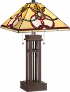 Quoizel TF1913TRS Tiffany Tiffany Russet Table Lighting