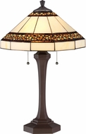 Quoizel TF1916TRS Tiffany Tiffany Russet Lighting Table Lamp