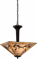 Quoizel TFMC2818WT Monteclaire Tiffany Western Bronze Hanging Lamp