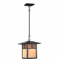Quoizel TFSM1509VB Samara Craftsman Vintage Bronze Finish 8.5  Wide Mini Pendant Light