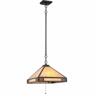 Quoizel TFSM1818VB Samara Vintage Bronze Finish 18  Wide Lighting Pendant
