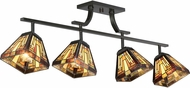 Quoizel TFST1404VB Stephen Tiffany Vintage Bronze Home Ceiling Lighting