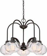 Quoizel TRG5105OZ Trilogy Modern Old Bronze Lighting Chandelier