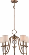 Quoizel UPEP5005WS Uptown Empire Weathered Brass Chandelier Light