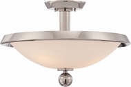 Quoizel UPTB1718IS Uptown Tribeca Contemporary Imperial Silver Overhead Lighting