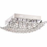 Quoizel VLA1618C Valla Polished Chrome Finish 7.5  Tall Xenon Ceiling Lighting