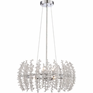 Quoizel VLA2820C Valla Polished Chrome Finish 20  Wide Xenon Mini Chandelier Light