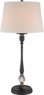 Quoizel VVCS6332OI Vivid Collection Cruise Oil Rubbed Bronze Side Table Lamp
