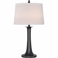 Quoizel VVKN6130IB Vivid Collection Kinlan Imperial Bronze Finish 28  Tall Table Lamp Lighting