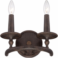 Quoizel VYR8702ML Voyager Malaga Finish 7.5  Tall Wall Sconce Lighting