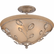 Quoizel WSY1716IF Wesley Italian Fresco Finish 16  Wide Ceiling Light