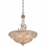 Quoizel WSY2820IF Wesley Italian Fresco Finish 24.5  Tall Drop Lighting Fixture