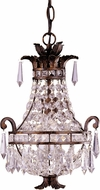 Savoy House 1-1046-1-56 Mini Chandelier New Tortoise Shell Mini Chandelier Lamp