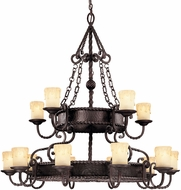 Savoy House 1-2233-15-25 San Gallo Slate 15-Light Hanging Chandelier