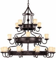 Savoy House 1-2239-20-25 San Gallo Slate 20-Light Chandelier Light