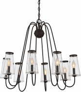 Savoy House 1-4001-8-13 Oleander Modern English Bronze Chandelier Light