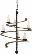 Savoy House 1-4040-6-41 Napoli Contemporary Durango 6-Light Chandelier Lamp