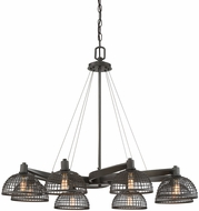 Savoy House 1-6021-8-83 Wexford Modern Remington Bronze Chandelier Light