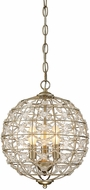 Savoy House 1-9068-3-100 Mini Chandelier Aurora Foyer Light Fixture