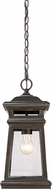 Savoy House 5-243-213 Taylor English Bronze w/ Gold Exterior Pendant Light