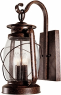 Savoy House 5-3412-56 Smith Mountain New Tortoise Shell Outdoor 11.5 Lamp Sconce