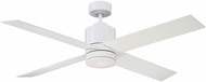 Savoy House 52-6110-4WH-WH Dayton White 52  Ceiling Fan