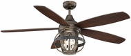 Savoy House 52-840-5CN-196 Alsace Reclaimed Wood Indoor / Outdoor 52  Home Ceiling Fan