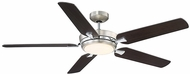 Savoy House 54-5055-5CN-SNCH Montrose Satin Nickel & Chrome LED Ceiling Fan Light Fixture