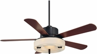 Savoy House 56-765-5HK-213 Olympic English Bronze w/ Gold Halogen 56  Ceiling Fan