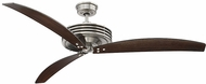 Savoy House 60-5035-3CN-SN Fairfax Contemporary Satin Nickel Halogen Ceiling Fan Light Fixture