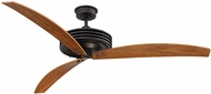 Savoy House 60-5035-3WA-13 Fairfax Modern English Bronze Halogen Home Ceiling Fan