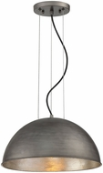 Savoy House 7-5013-1-85 Sommerton Contemporary Rubbed Zinc w/ Silver Leaf 16 Drop Lighting